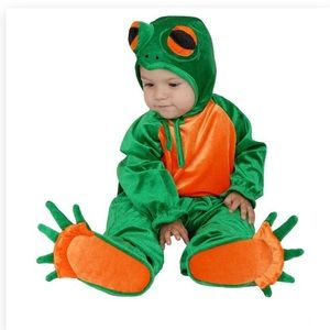 Frog Halloween Costume Size 6-12 months